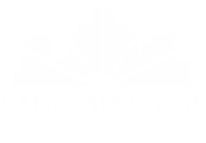 Clean Advantage Logo White