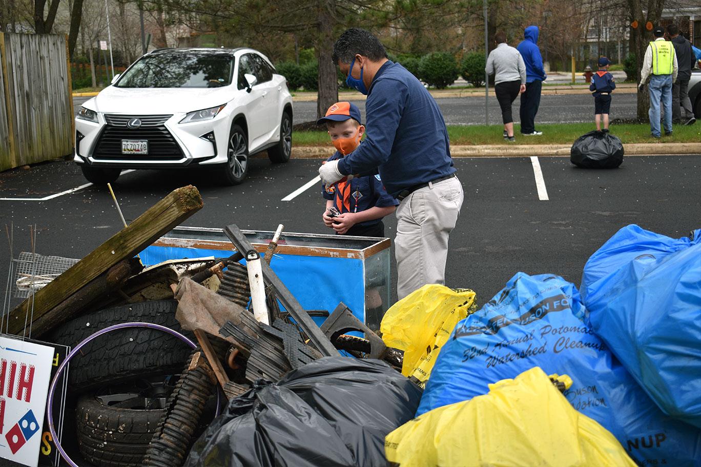 Clean Advantage Potomac Clean Up