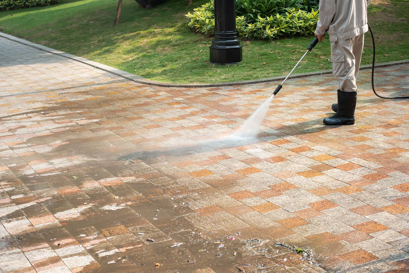 Clean Advantage Pressure Washing Walkway